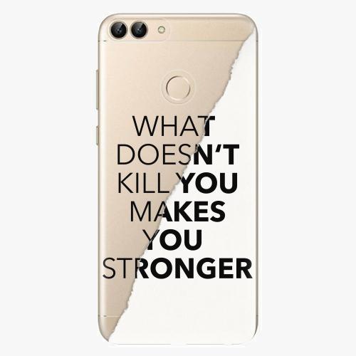 Silikonové pouzdro iSaprio - Makes You Stronger - Huawei P Smart