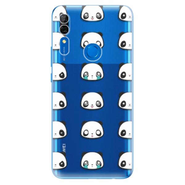 Odolné silikonové pouzdro iSaprio - Panda pattern 01 - Huawei P Smart Z
