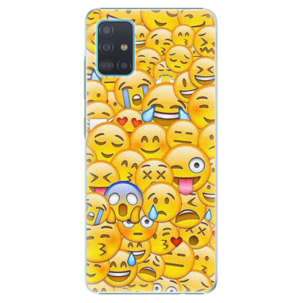 Plastové pouzdro iSaprio - Emoji - Samsung Galaxy A51