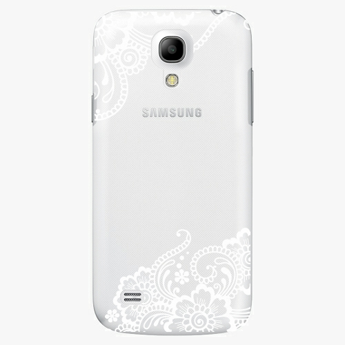 Plastový kryt iSaprio - White Lace 02 - Samsung Galaxy S4 Mini