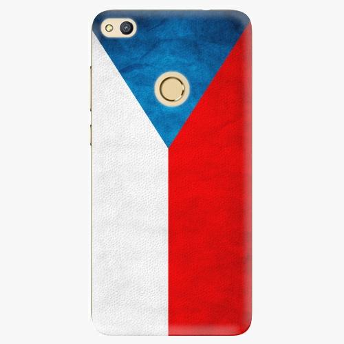 Plastový kryt iSaprio - Czech Flag - Huawei Honor 8 Lite