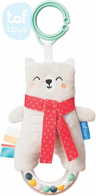 TAF TOYS Baby medvídek Paul závěsné chrastítko pro miminko
