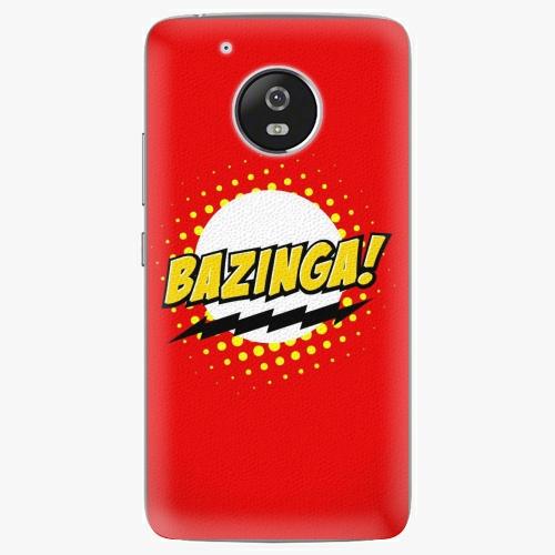 Plastový kryt iSaprio - Bazinga 01 - Lenovo Moto G5
