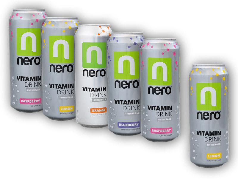 5x Nero Active 500ml + 1x 500ml