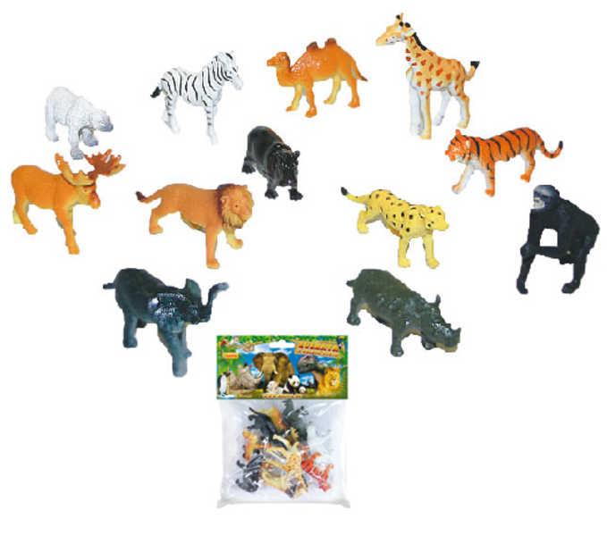 Zvířátka divoká v sáčku 12 ks