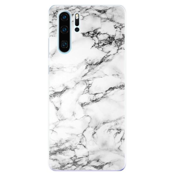 Odolné silikonové pouzdro iSaprio - White Marble 01 - Huawei P30 Pro