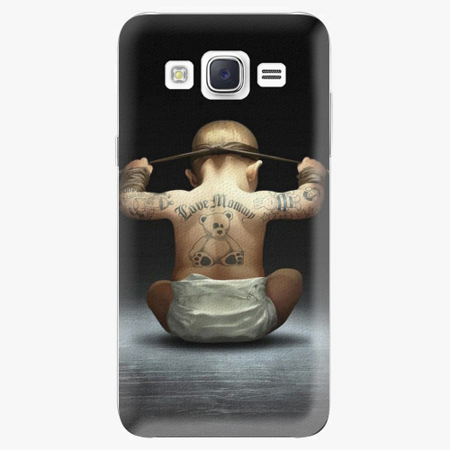 Plastový kryt iSaprio - Crazy Baby - Samsung Galaxy J5