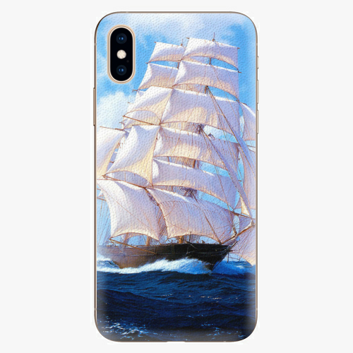 Silikonové pouzdro iSaprio - Sailing Boat - iPhone XS
