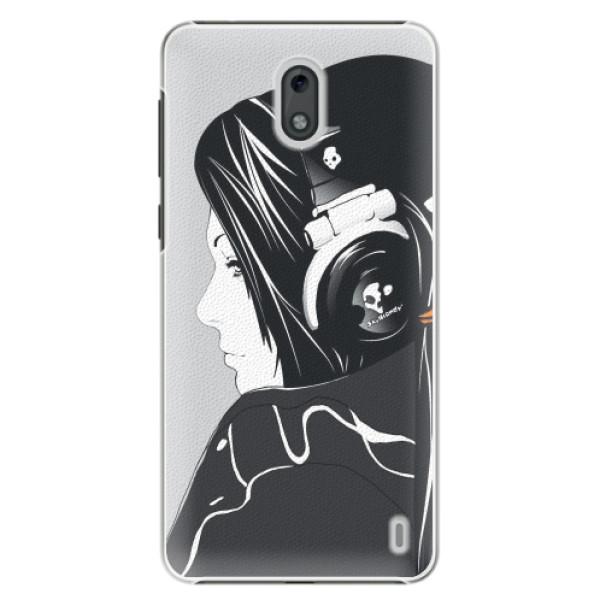 Plastové pouzdro iSaprio - Headphones - Nokia 2