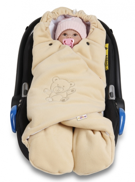 baby-nellys-detska-zavinovacka-fusak-polar-bio-bavlna-bezova