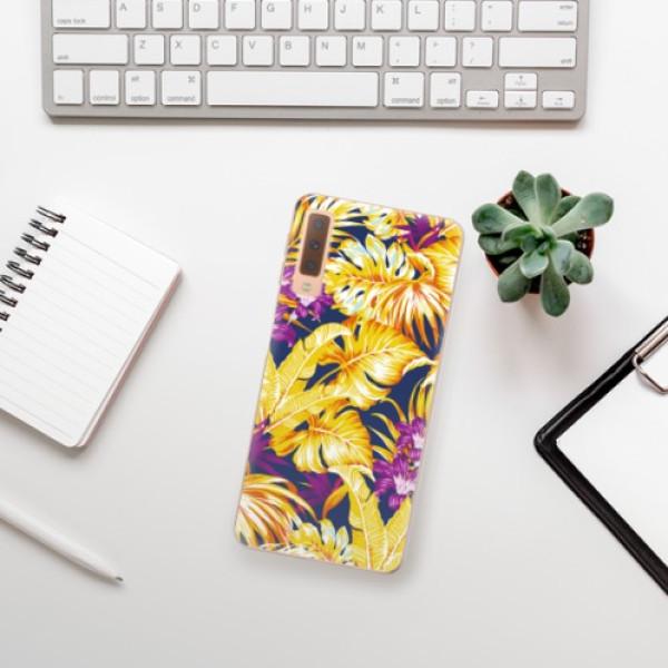 Odolné silikonové pouzdro iSaprio - Tropical Orange 04 - Samsung Galaxy A7 (2018)