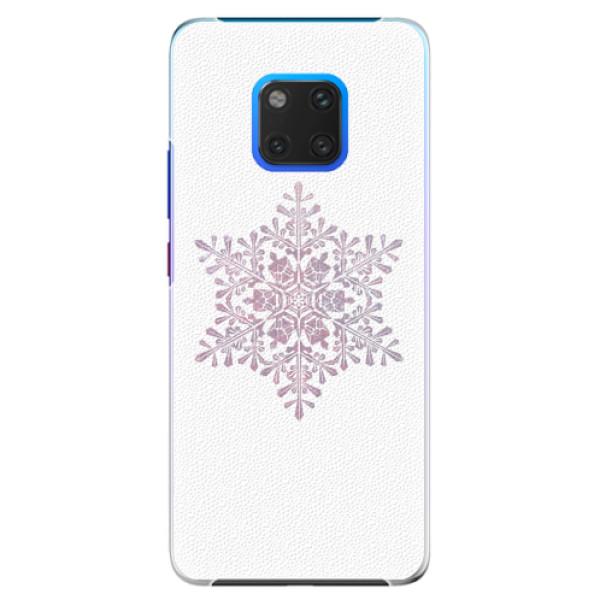 Plastové pouzdro iSaprio - Snow Flake - Huawei Mate 20 Pro