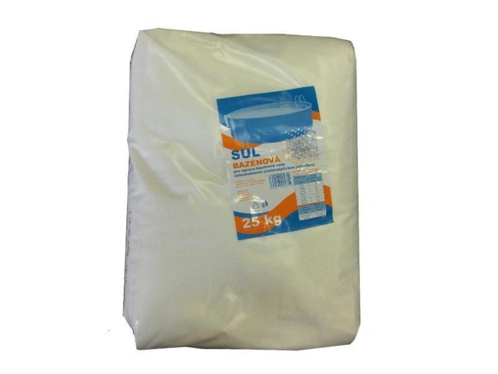 Bazénová sůl 25 kg - efekt mořské vody