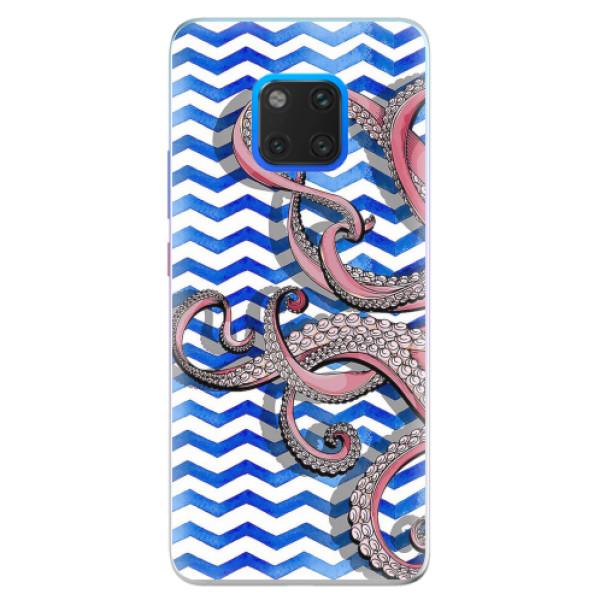 Silikonové pouzdro iSaprio - Octopus - Huawei Mate 20 Pro