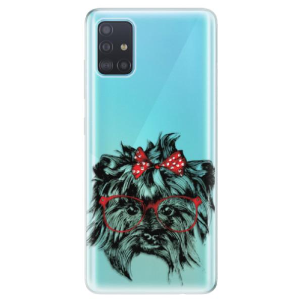 Odolné silikonové pouzdro iSaprio - Dog 03 - Samsung Galaxy A51