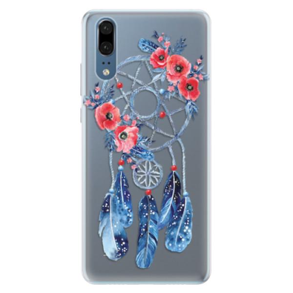 Silikonové pouzdro iSaprio - Dreamcatcher 02 - Huawei P20