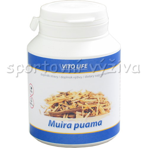 Muira Puama 400mg 100 kapslí