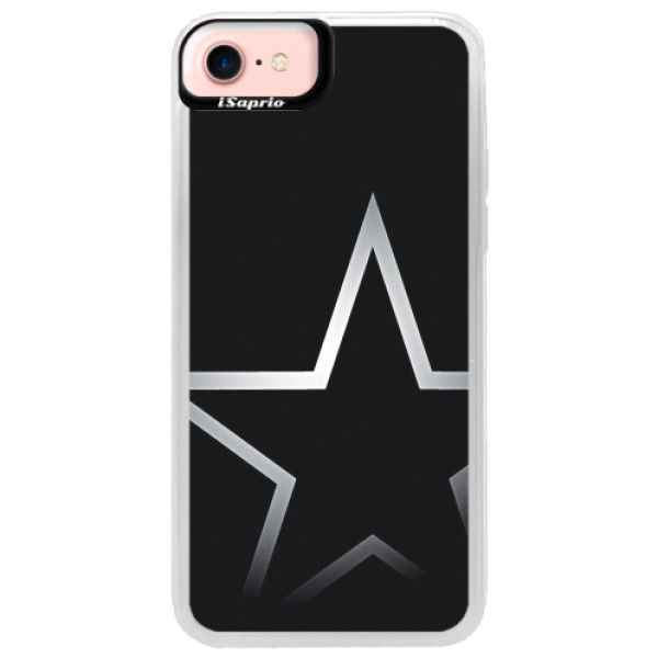 Neonové pouzdro Pink iSaprio - Star - iPhone 7