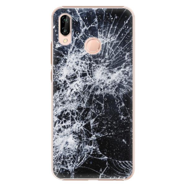 Plastové pouzdro iSaprio - Cracked - Huawei P20 Lite