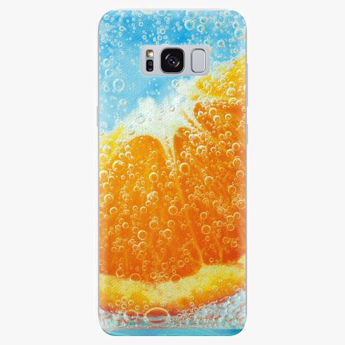 Silikonové pouzdro iSaprio - Orange Water - Samsung Galaxy S8