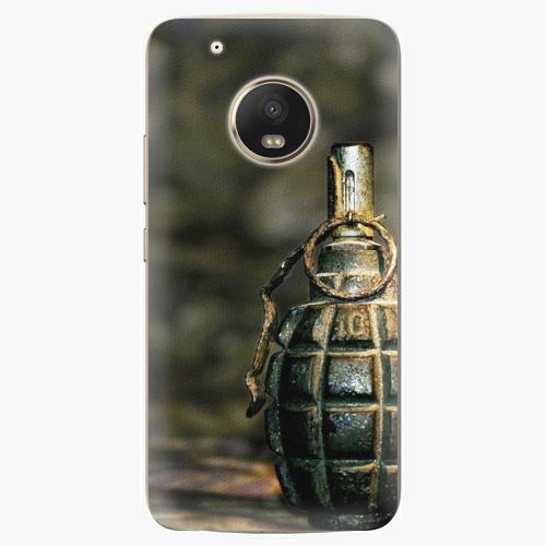 Plastový kryt iSaprio - Grenade - Lenovo Moto G5 Plus
