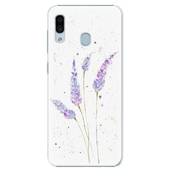 Plastové pouzdro iSaprio - Lavender - Samsung Galaxy A20