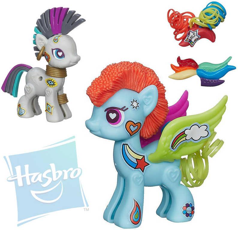 HASBRO MLP My Little Pony set poník s duhovými doplňky 2 druhy