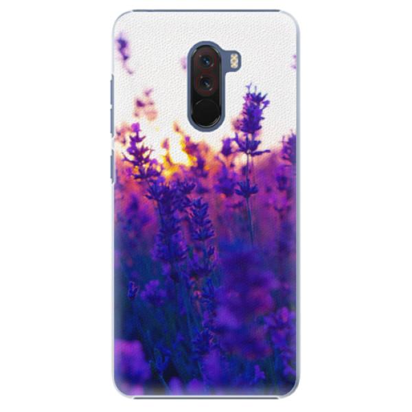Plastové pouzdro iSaprio - Lavender Field - Xiaomi Pocophone F1
