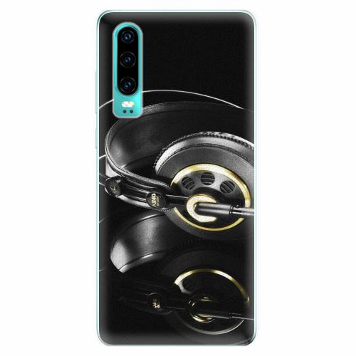 Silikonové pouzdro iSaprio - Headphones 02 - Huawei P30
