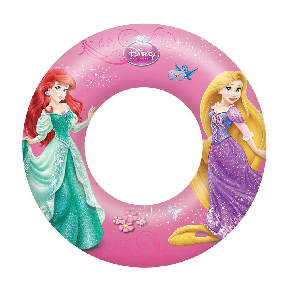 Dětský nafukovací kruh Bestway Princess - růžová