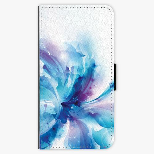 Flipové pouzdro iSaprio - Abstract Flower - iPhone 8