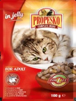 S hovězím v želé kapsička pro kočky 100 g