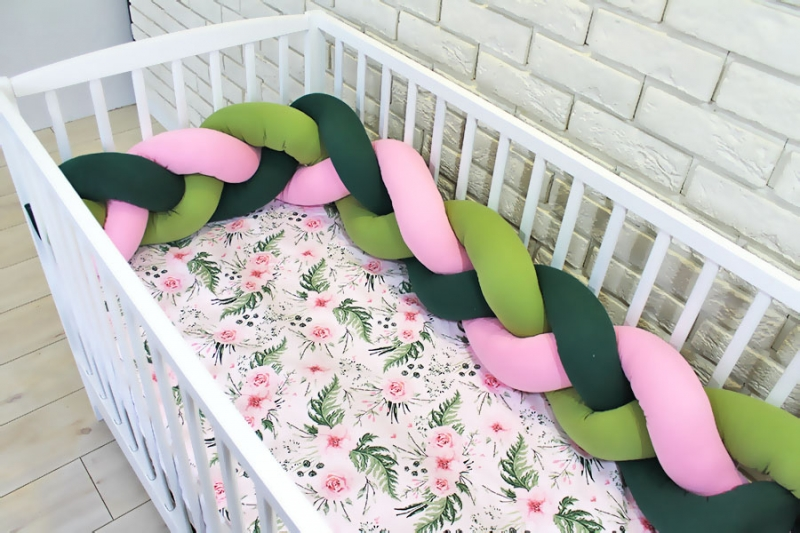 baby-nellys-mantinel-pleteny-cop-s-povlecenim-kvetinky-zelena-ruzova-b19-120x90