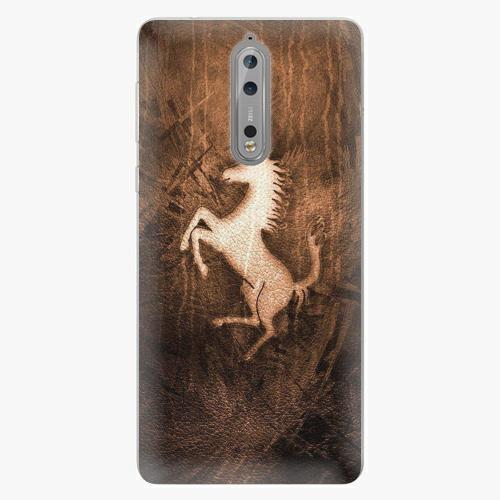 Plastový kryt iSaprio - Vintage Horse - Nokia 8