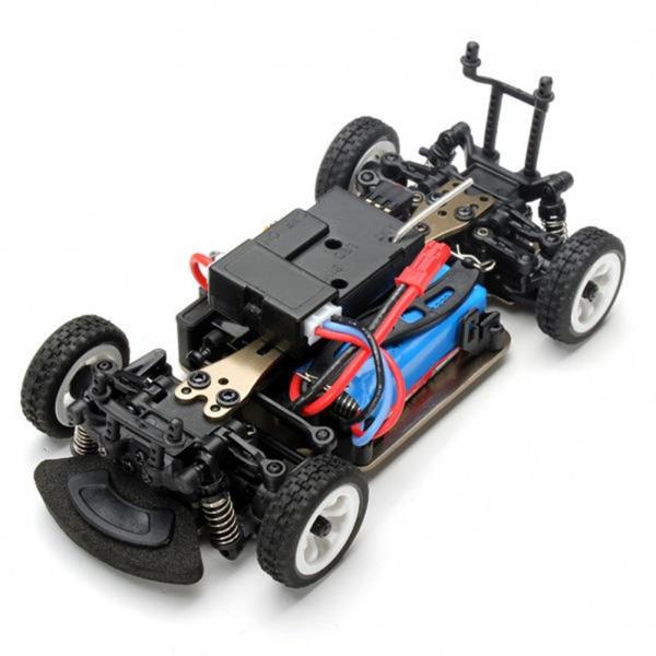 GALLOP-PRO - mini auto s ALU podvozkem 1/28