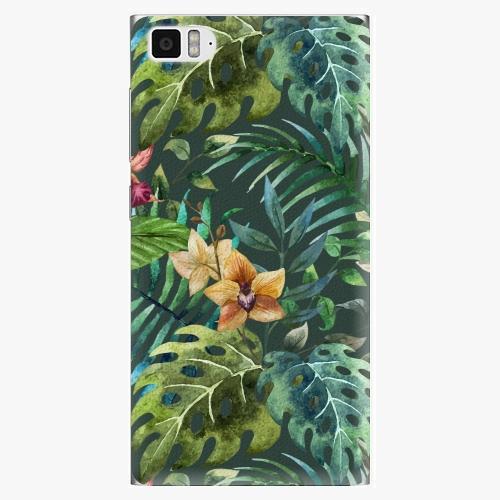 Plastový kryt iSaprio - Tropical Green 02 - Xiaomi Mi3