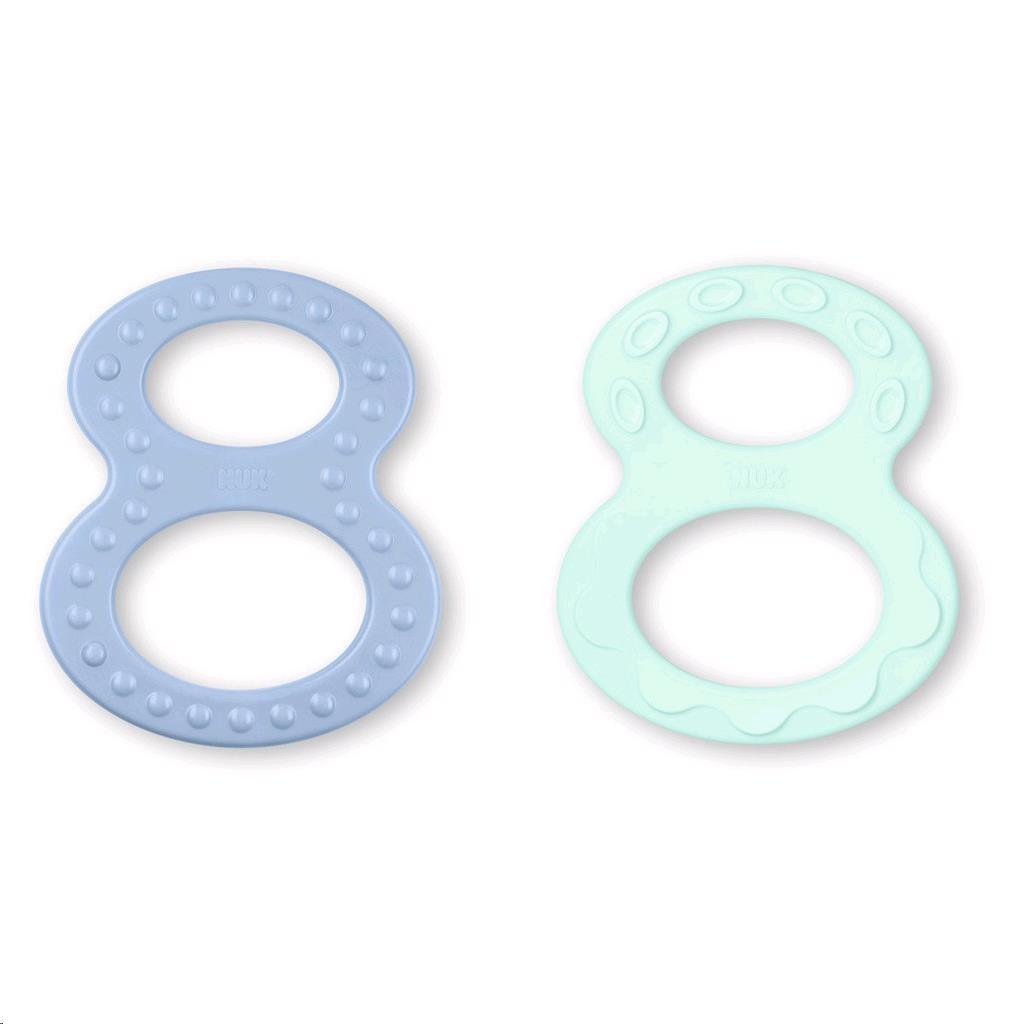 Dětské kousátko NUK 2 ks - modrá