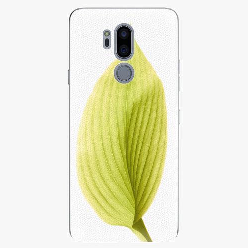 Plastový kryt iSaprio - Green Leaf - LG G7
