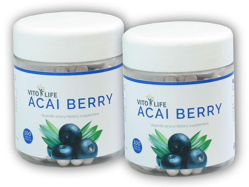 2x Acai Berry 100 kapslí
