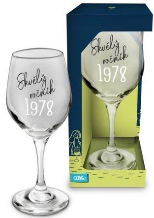 Skleničky na víno - Sklenice na víno - 1978
