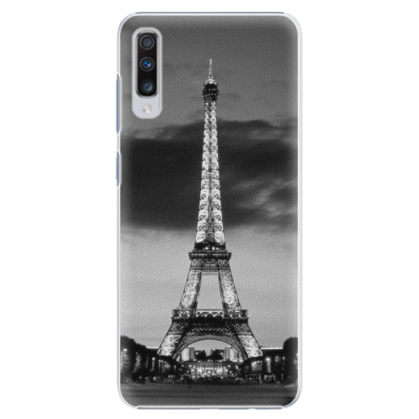 Plastové pouzdro iSaprio - Midnight in Paris - Samsung Galaxy A70
