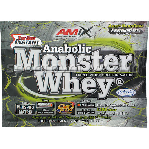 Anabolic Monster Whey 33g - akce-vanilla-cherry