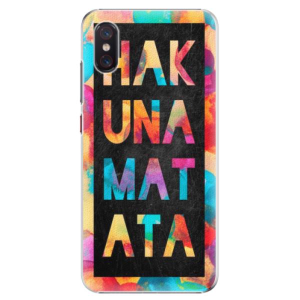 Plastové pouzdro iSaprio - Hakuna Matata 01 - Xiaomi Mi 8 Pro