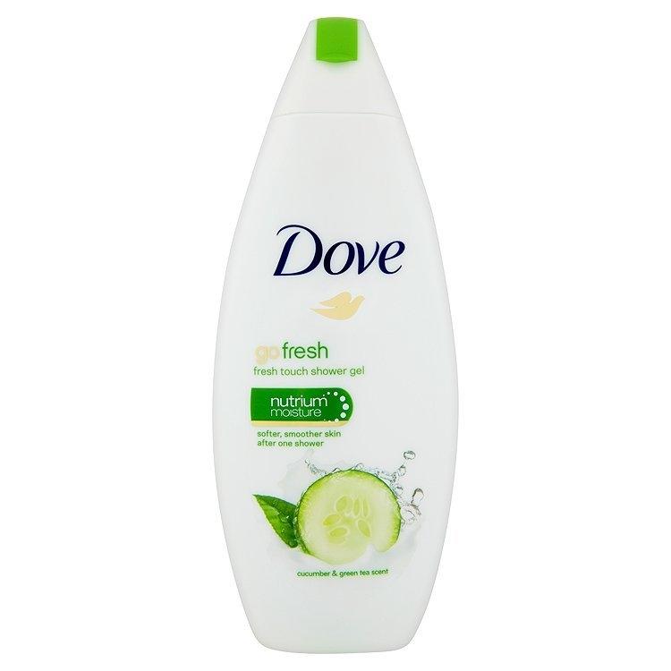 Go fresh vyživující sprchový gel s vůní okurky a zeleného čaje 250 ml