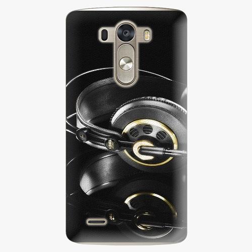 Plastový kryt iSaprio - Headphones 02 - LG G3 (D855)