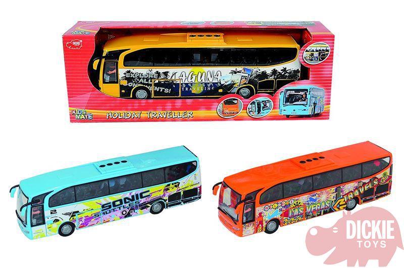 DICKIE Autobus Euro Travell 26 cm na setrvačník