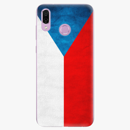 Plastový kryt iSaprio - Czech Flag - Huawei Honor Play