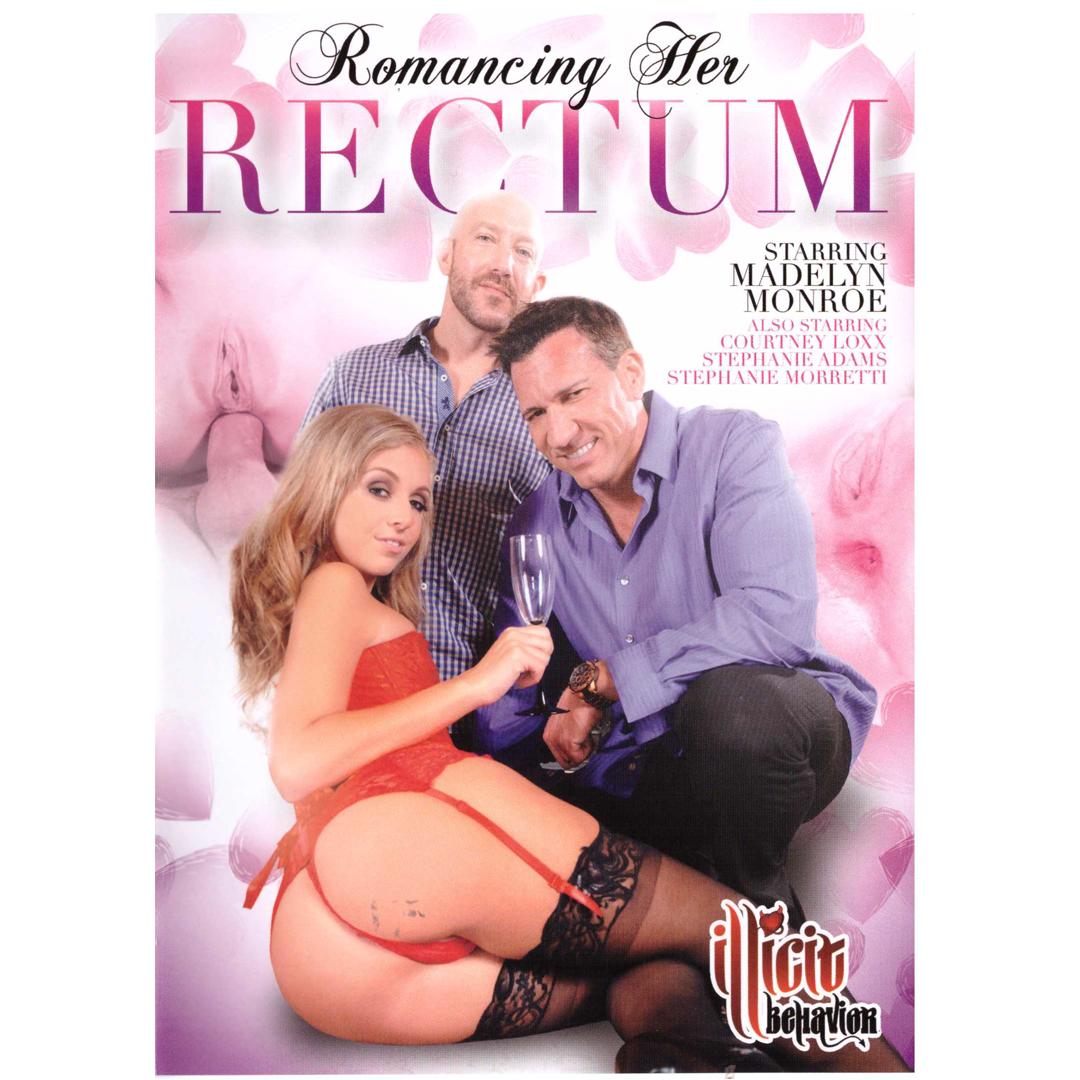 DVD - Romancing Her Rectum - Romantické anální hrátky DVD