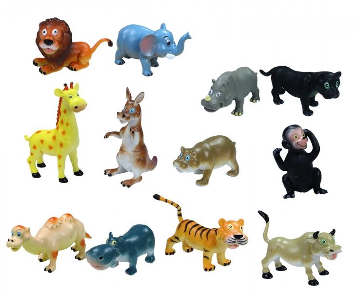 Zvířata veselá divoká, 12 cm