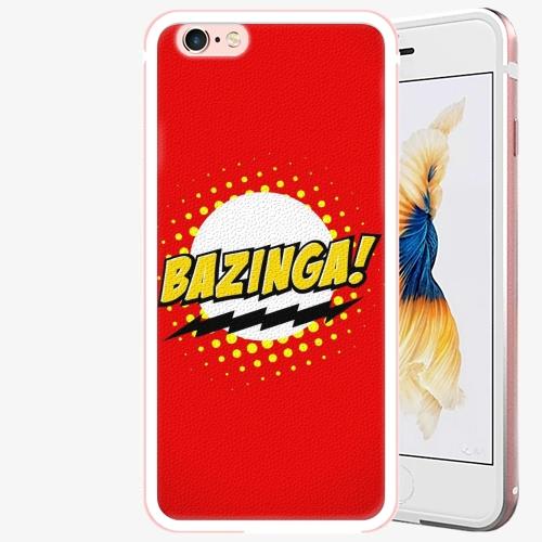 Plastový kryt iSaprio - Bazinga 01 - iPhone 6/6S - Rose Gold